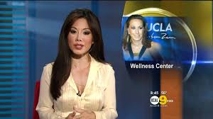 Sharon Tay 2011/11/17 8PM KCAL9 HD; White blouse - YouTube