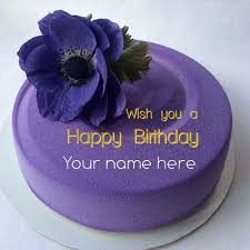 write on happy birthday cake for friends
