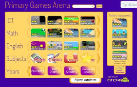 Image result for PRIMARY GAMES ARENA