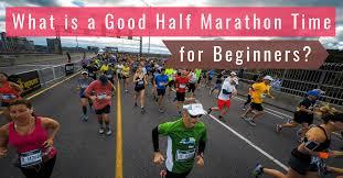 half marathon time for beginners