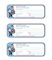 gift certificate templates in ms word