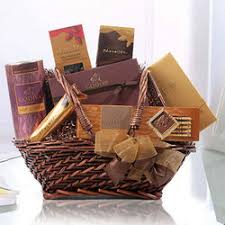 re stocking holiday gift baskets