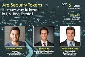 """Marc Boiron on Twitter: """"I look forward to speaking about #securitytokens  and #realestate at the #TokenizeLA meetup next week.… """""""