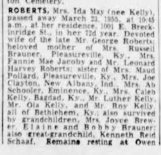 Ida Roberts - Newspapers.com