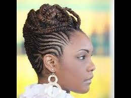 best cornrow updo hairstyles for black