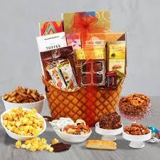 rustic retreat gourmet gift basket by