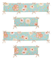 watercolor fl baby girl crib