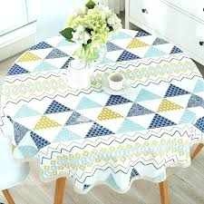 inch round tablecloth x fits what size