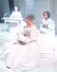 Production still for Prudence by Barbara and Carlton Molette with Hilary  Parker as Prudence, Amber Gray as Sarah Harris, and Christina Jolley as Ann  ... | Alexander Street, a ProQuest Company