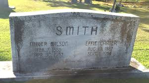 Effie Carter Smith (1887-1954) - Find A Grave Memorial
