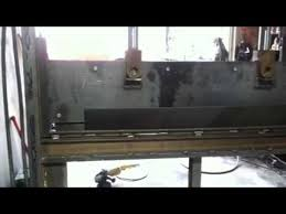 7ft homemade press brake you