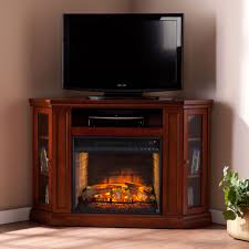 corner infrared electric fireplace