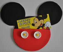 Invitacion De Cumpleanos Mickey Mouse Invitaciones De Cumpleanos
