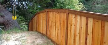 5ft Custom Wood Fence West Coast Fencing