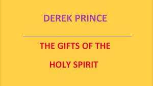 holy spirit derek prince audio sermon