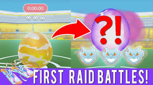 MY FIRST RAID BATTLES IN POKEMON GO! LEVEL 3 RAID BOSS! BONUS LEVEL 1 RAID  BOSS & FAN FOOTAGE - YouTube