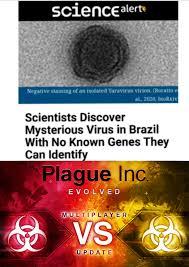 Coronavirus vs Yaravirus : meme