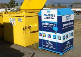 clothing donation bins in cranbrook