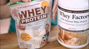 jay robb vs whey factors protein