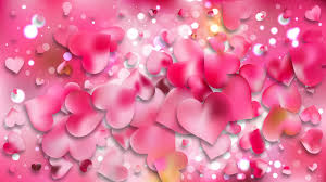 heart wallpaper background vector image