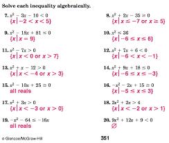 algebra 2 home work