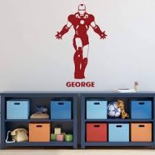 Personalized Ironman Wall Decor Vinyl Decor Wall Decal Customvinyldecor Com