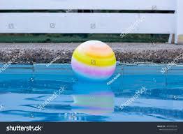 Swimming Pool White Fence Unfocused Background Stock Photo Edit Now 1479701579
