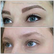 microblading permanent makeup in