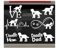 7 Count Corgi Mom Dad Dog Decal Sticker For Car Window Bg 272