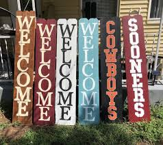 Porch Signs Welcome Signs For Sale In Midwest City Ok Offerup