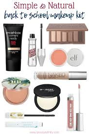 back to makeup kit beauty with
