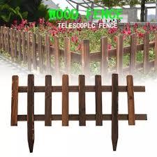 Wooden Picket Fence Garden Lawn Edging Yard Outdoor Tree Fencing 40cm Buy Online At Best Prices In Pakistan Daraz Pk