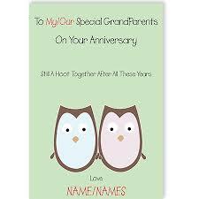 grandpas happy anniversary card