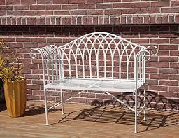 westwood 2 seater garden bench metal