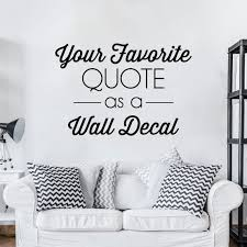custom vinyl decal create your own wall quotes decal in