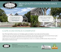 Cape Cod Fence Co S Competitors Revenue Number Of Employees Funding Acquisitions News Owler Company Profile
