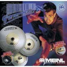 "Meinl Generation X Johnny Rabb Pack 12""HiHat, 16""Crash, 18""Ride ..."
