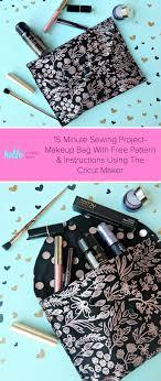 sewing project diy makeup bag