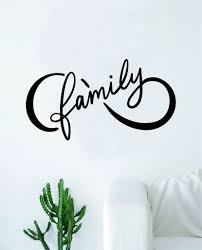Infinity Family Wall Decal Sticker Vinyl Art Bedroom Living Room Nurse Boop Decals
