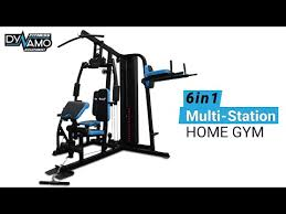home gym 6in1 multi station with leg