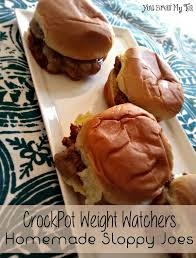 weight watchers recipe crockpot sloppy