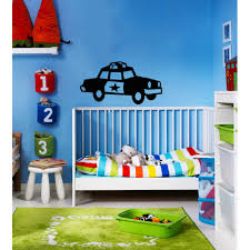 Shop Police Car Vinyl Wall Decal Overstock 8441707