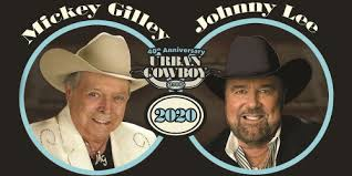 Mickey Gilley & Johnny Lee: 40th Anniversary Urban Cowboy Tour - Sugar  Creek Casino