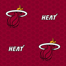 miami heat logo pattern red