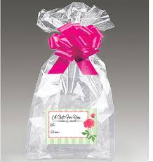 jumbo clear cello cellophane bags gift
