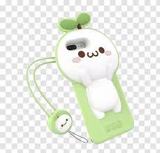Iphone 6s Dango Smartphone Onigiri Sticker Cartoon Cute Grass Phone Case Transparent Png