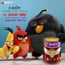 3 điểm trùng hợp thú vị giữa Angry Birds... - Sơn Galaxy Miền Bắc ...