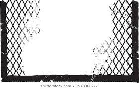 Damaged Chain Link Fence Stock Vectors Images Vector Art Shutterstock