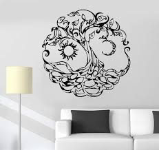 Vinyl Wall Decal Tree Of Life Celtic Symbol Moon Sun Day Night Sticker Wallstickers4you