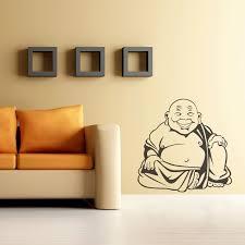 Buddha Wall Decal Happy Buddha Wall Sticker